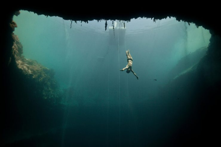 Deans Blue Hole- Diver