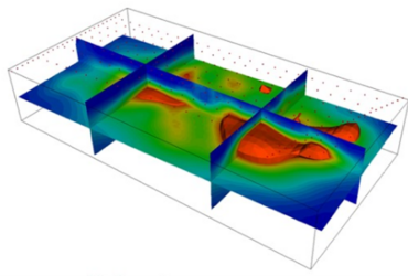 ERT survey reservoir